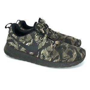 Nike Men Roshe Run Tiger Green Sneakers Shoe Sz 11